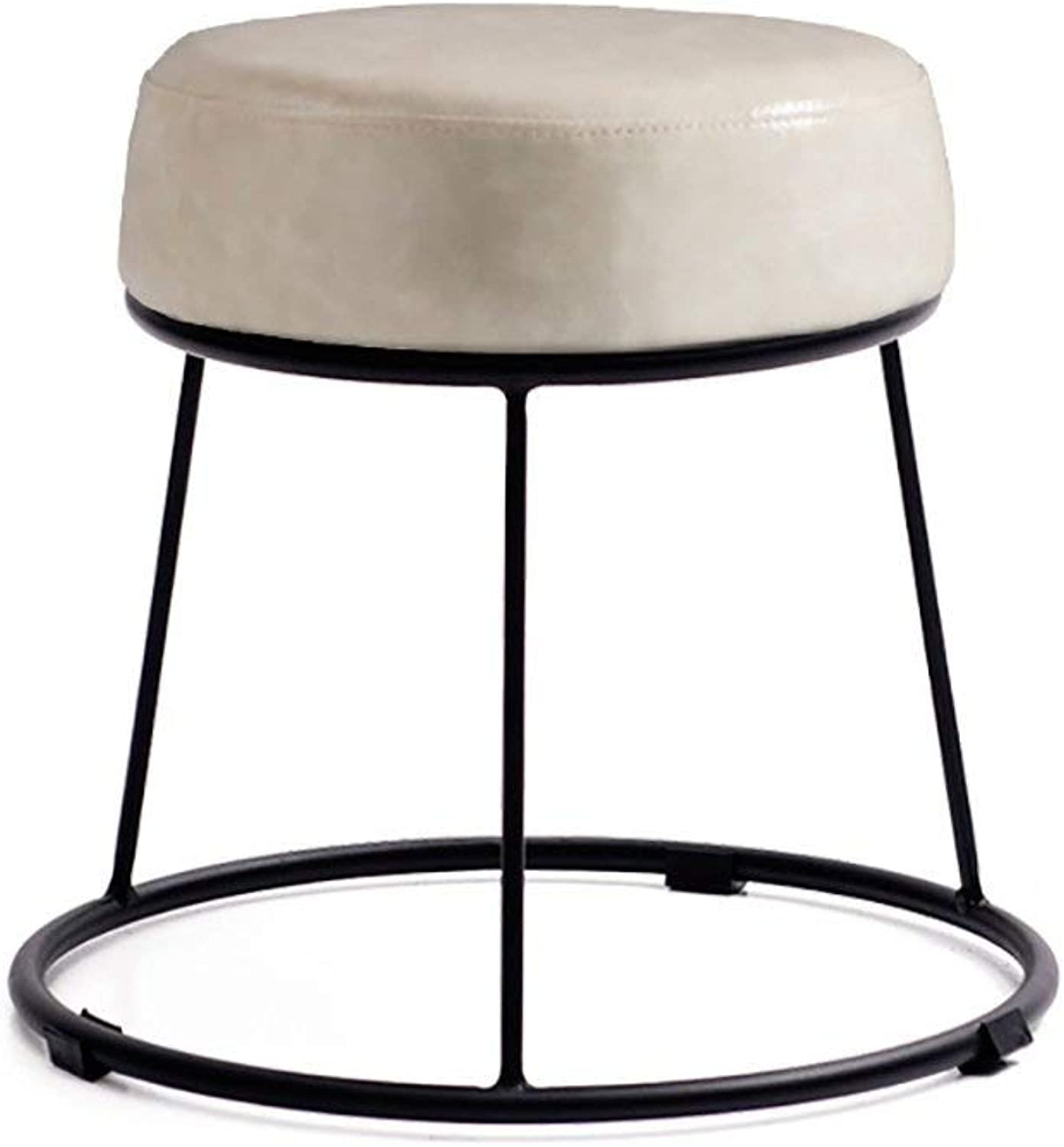 European Chair Soft Stools Padded Stool Home Stool Vanity Stool Small Stool Lazy Bench Footstool Beautiful and Practical GMING (color    3)
