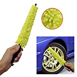 Surenhap Felgenbürste Auto Rim Cleaner Brush Autorad aWaschbürste mit Griff