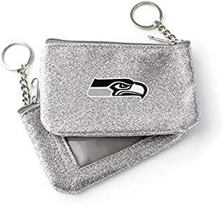 Aminco NFL Unisex-Adult NFL Color Sparkle Coin and ID Purse