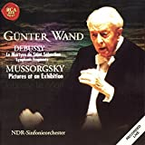 Debussy / Mussorgsky: Le Martyre De Saint Sebastian / Pictures At An Exhibition by Günter Wand (2002-02-11)