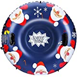 SKL Snow Tube, 47 Inch Inflatable...
