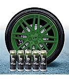 AutoFullCar Pack 5 Sprays Full Dip Verde Militar | Pack Llantas | Plastidip