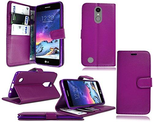 Funda para teléfono móvil LG K10 2017 (5,3 pulgadas), M250N X400 K20 Plus LV5, color morado