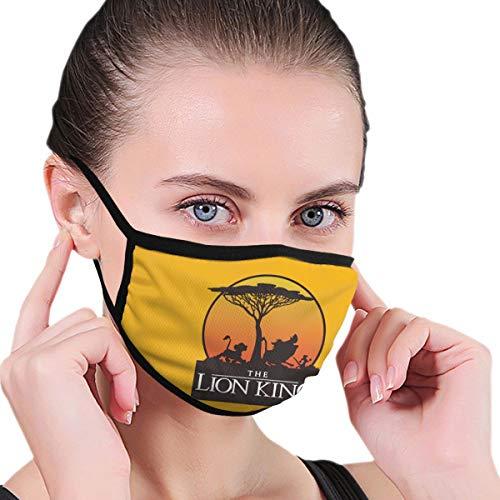 Supernatuurlijke Symbolen Unisex Herbruikbaar Masker Warm Winddicht Anti Stoffilter Gezicht Mond Masker Voor Man Vrouw Eén maat Lion King Sunset Pride