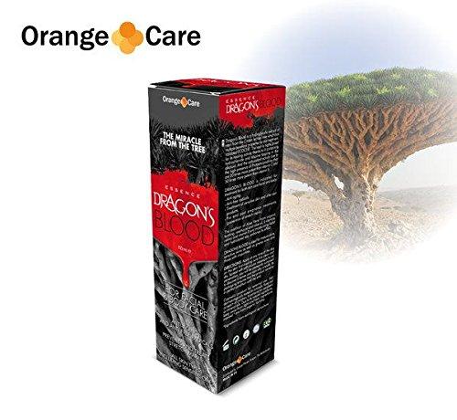 Atención de la naranja de sangre de dragón, crema de 100ml
