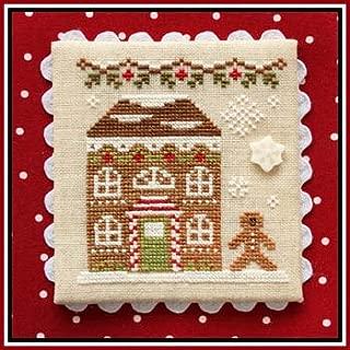 Gingerbread Village 11-Gingerbread House 8 Cross Stitch Chart