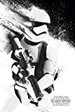 Star Wars Episode 7 Poster Stormtrooper Paint (61x 91,5cm) + Original tesa Powerstrips (1 Pack/20 STK.)