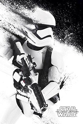 Close Up Star Wars Episode 7 Poster Stormtrooper Paint (61 cm x 91,5 cm)