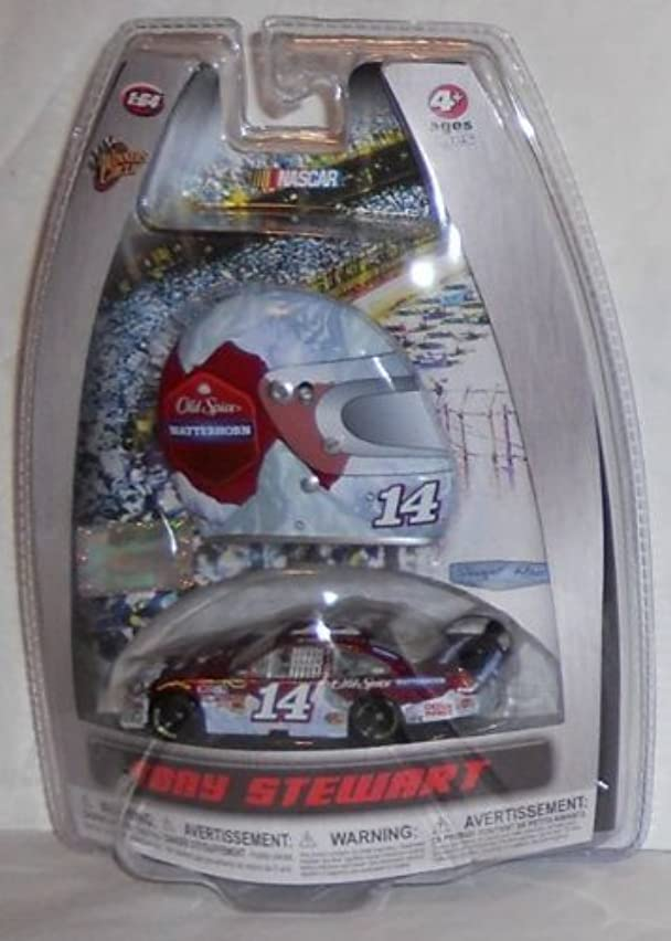 NASCAR Tony Stewart #14 Matterhorn Old Spice Impala SS 1/64 Scale Diecast with Bonus Magnet Mini Profile Helmet Winners Circle 2010 Edition