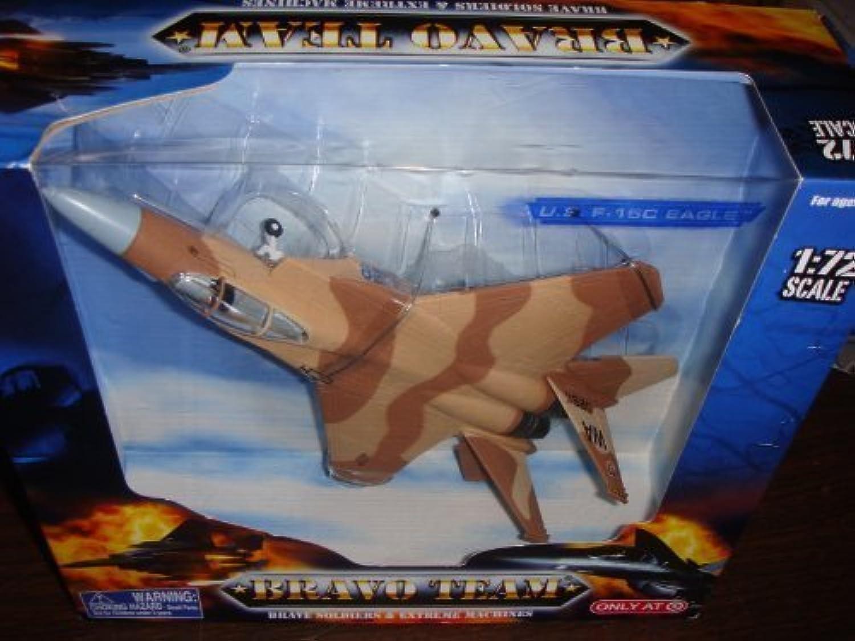opciones a bajo precio Bravo Team U.S. U.S. U.S. F-15C Eagle 1 72 Scale - marrón by Bravo Team  toma