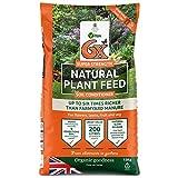 6X Natural Fibrous Fertiliser 1 x 15kg bag