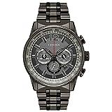 【並行輸入品】 ソーラー シチズン 腕時計 エコドライブ ナイトホーク メンズ クロノグラフ CITIZEN ECO-DRIVE NIGHTHAWK CA4377-53H