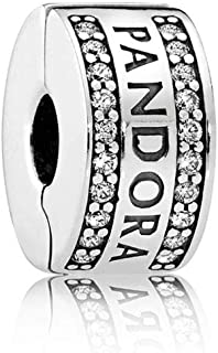 Pandora Women Silver Bead Charm - 792056CZ