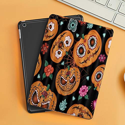 Funda iPad 10.2 Inch 2018/2019,Calabaza Fantasma Linternas d