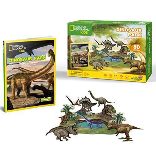 National Geographic Dinosaurier Park - 3D-Puzzle