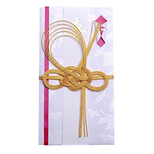 お祝儀袋 ご祝儀袋赤鶴 金封 ご祝儀 結婚式 寿 披露宴