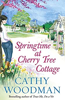 Springtime at Cherry Tree Cottage: (Talyton St George) by [Cathy Woodman]