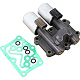 AIP Electronics Premium Automatic Transmission Dual Linear Shifting Solenoid Compatible Replacement For 2006-2011 Honda Civic Fit 28260RPC004 Oem Fit TSL001