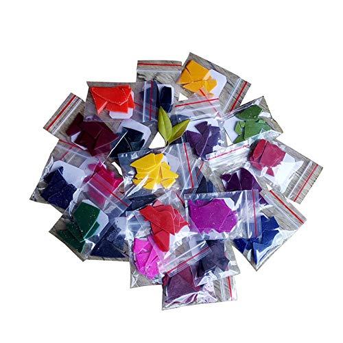 24 Pigmentos En Polvo De Mica, Tinte De Cera De Vela De Soja Natural Para Bricolaje, Tinte De Resina Epoxi Para Cera Derretida, Polvo De Pigmento De Resina Epoxi, Colorante Seguro Para Hacer J