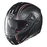 X-Lite X de 1003Mill Armario–Casco Moto N- Com Composite–Negro Mate Rojo Tamaño M1