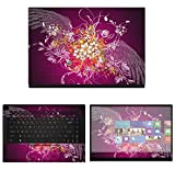 Decalrus - Protective Decal Skin Sticker for MSI GS66 Stealth (15.6' Screen) case Cover wrap MSgs66Stealth-41