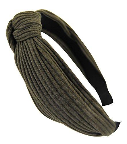 axy HR34 Stoff Haarreif mit Schleife-Vintage-Wunderschön Stirnband Haarschmuck (Oliver)