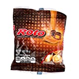 Hershey (1) Bag Rolo - Chewy Caramels in Milk Chocolate - Individually Wrapped Candy Pieces - Gluten Free - Net Wt. 3 oz
