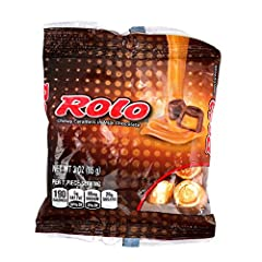 (1) Bag Hershey Rolo Chewy Caramels in Milk Chocolate Individually Wrapped Candy Pieces Gluten Free Net Wt. 3 oz / 85 g