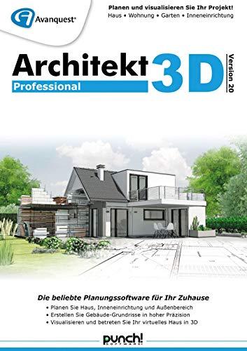 Architekt 3D 20 Professional | Professional | PC | PC Aktivierungscode per Email