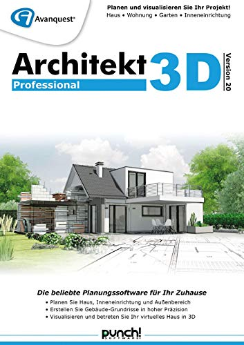 Architekt 3D 20 Professional | Professional | PC | PC Aktivierungscode per Email