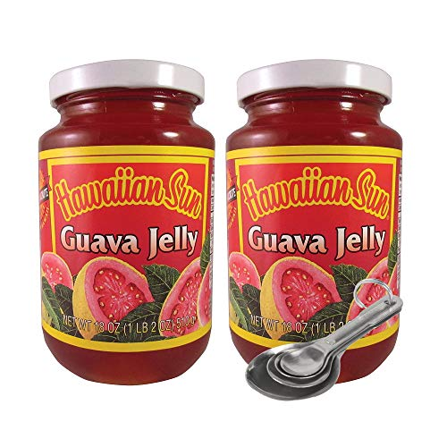 [Pack of 2] [Free Measuring Spoon] Hawaiian Sun (Guava Jelly 18 OZ)