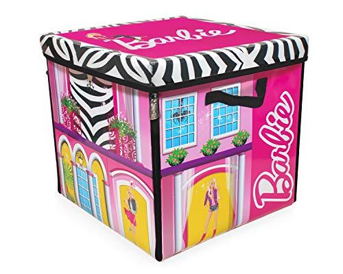 Barbie Mattel A1465XX - La casa dei sogni, scatola con cerniere, da trasformare in piano di gioco