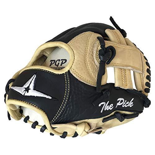 All-Star FG100TM-FRBK/TN9.5 Training Glove/The Pick/LHT BK/TN 9.5