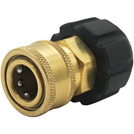 1//4 3//8 Quick Connect Female to M22 14 15 Female Connector Pressure Washer