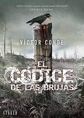 Portada del libro El códice de las brujas de Víctor Conde