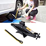 AmaZeus Repair Tools Upright ST-112C Heavy Duty Stabilizer Scissor Jack with Handle Lift Levelers 4000 Pound (2 Ton) Capacity Each - 9.8 to 44.2 cm Range Size as per Images Weight: 3.37