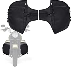 Soft Lowers Chaps, Leg Warmer for Touring Street Glide Road King Road Glide Electra Glide and Trike Models 1980-2018 2019 2020 Aftermarket Harley Davidson Part