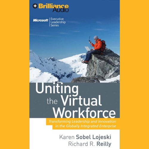 Uniting the Virtual Workforce audiobook cover art