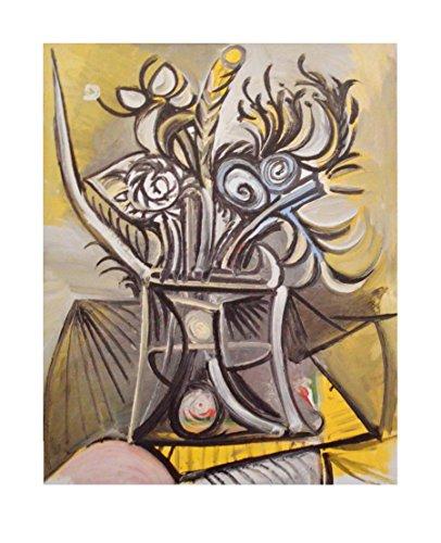 Germanposters Pablo Picasso Vase de Fleurs sur UNE Table Poster Kunstdruck Bild 24x30cm