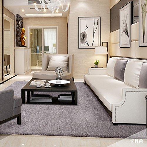 HAOJUN *Bereich Teppich Shaggy Teppich Monochrom Wohnzimmer Hochwertiger Teppich rutschfeste 100%...