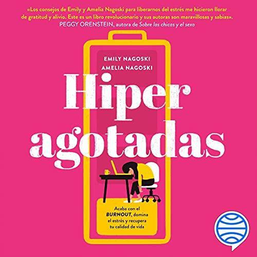 Diseño de la portada del título Hiperagotadas