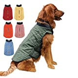 EMUST Dog Coat for Winter, Windproof Dog Jackets for Cold Weather with Lofty Collar, Puppy Clothes for Small Dog Clothes for Dogs, S