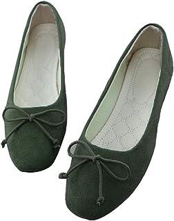 28c5103f3 Amazon.fr : Vert - Ballerines / Chaussures femme : Chaussures et Sacs