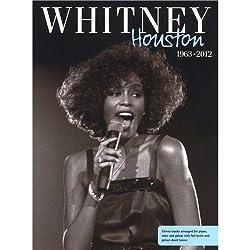 Whitney Houston: 1963 - 2012. Partitions pour Piano, Chant et Guitare