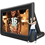 Inflatable Movie Screen Outdoor – Screens for Christmas Movies Outside – Mega Blow
