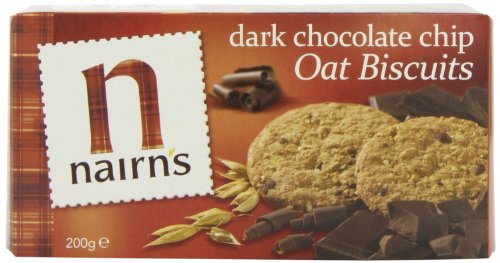 Nairns - Oat Biscuits - Dark Chocolate Chip - 200g (Case of 8)