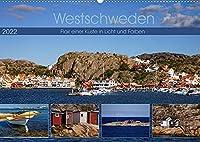 Westschweden - Flair einer Kueste in Licht und Farben (Wandkalender 2022 DIN A2 quer): Stimmungsvolle Eindruecke vom farbenfrohen Kuestenland (Monatskalender, 14 Seiten )