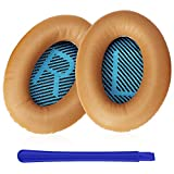 TesRank Coussinets de Remplacement pour Casques Bose Quiet Comfort QC 2 15 25 35 AE2 AE2i AE2w, Kaki