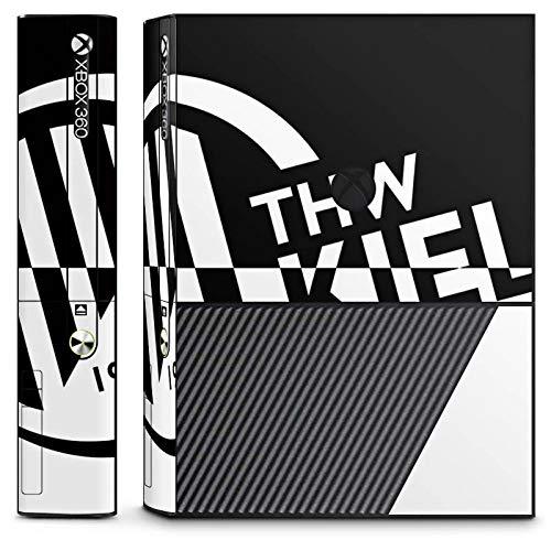 DeinDesign Skin kompatibel mit Microsoft Xbox 360 E Folie Sticker Handball THW Kiel Fanartikel