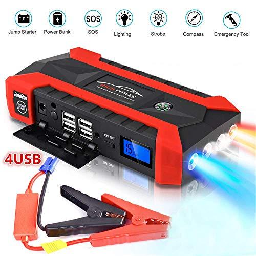 20000mAh Autobatterie Starthilfe, Riloer tragbares adegerät für Outdoor Elektrowerkzeuge